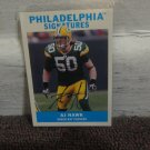 2009 Upper Deck Philadelphia Signatures #PS-AJ AJ Hawk Green Bay Packers Auto.