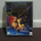 STAR WARS REBEL ASSAULT II THE HIDDEN EMPIRE (MAC-CD 1995). *RARE BIG BOX*.LOOK