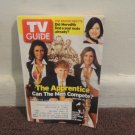 TV Guide: February 7 - 13  2004, Trump cover, The Apprentice, The Bachelorette..