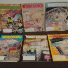 """Lot of 7 Vintage Magazines """"WORKBENCH"""" good overall condition!!!"""