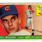 1955 Topps Bill Wilson #86, Not in good condition.....LOOK!!