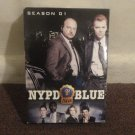 NYPD Blue - Season 1 (DVD, 2008), 6-Disc Set, Pan and Scan; Full Frame 1.33:1