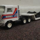 VINTAGE 1980'S BUDDYL NASA TRANSPORT TRUCK AND TRAILER, NICE COND. 2 exhaust stk