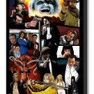 "The Tarantinoverse - Mounted Canvas 22x34"""