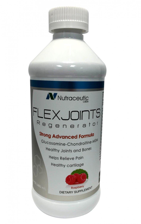 FlexJoints Regenerator Liquid Glucosamine + Chondroitine + MSM + Hyaluronic Acid