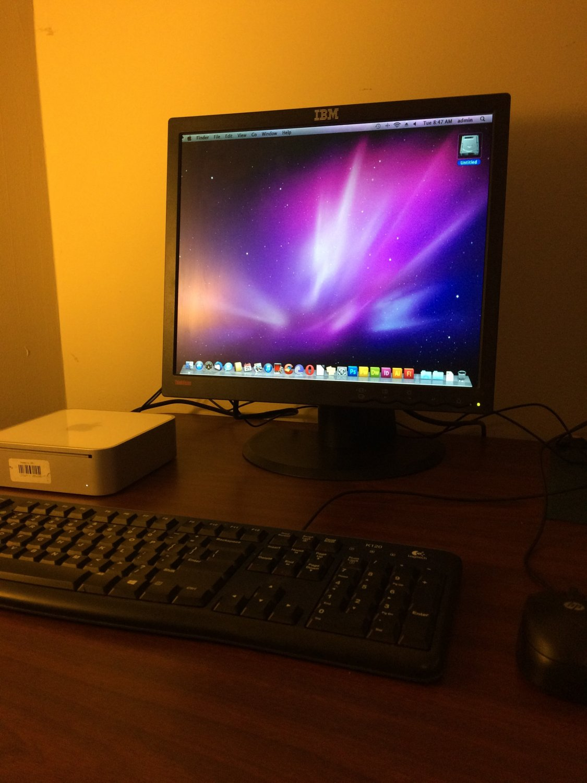 Mac Mini 1.66GHz Intel Core Duo