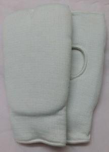 MMA Fist Karate Mitt Punching Gloves White Cloth
