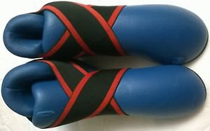 Karate Taekwondo Kick Boxing Martial Arts Boots Sparring Shoes Blue