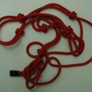 Horse Rope Halter Red New Horse Tack