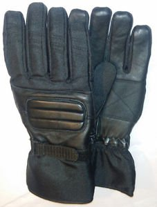 Leather Winter Motorcycle Motocross Gloves MotorBike Riding Gauntlets NEW