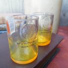 Pineapple Ciroc Bottle Upcycled Shotglasses, Set of 2