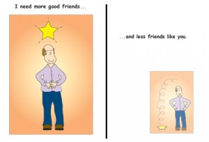 Greeting Cards Sarcastic Friendship Cards 026