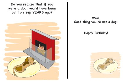 Greeting Cards Sarcastic Birthday Cards 035