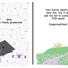 Greeting Cards Sarcastic Graduation Cards 037