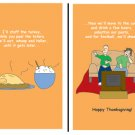 Greeting Cards Sarcastic Thanksgiving Cards 038