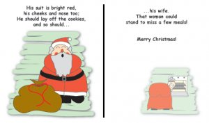 Greeting Cards Sarcastic Holiday Cards 041