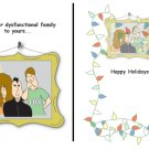 Greeting Cards Sarcastic Holiday Cards 043