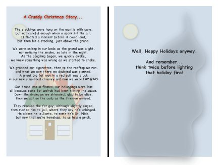 Greeting Cards Sarcastic Holiday Cards 045