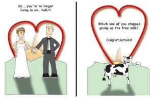Greeting Cards Sarcastic Wedding Cards 049