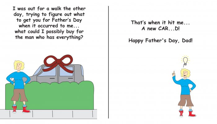 Greeting Cards Sarcastic Father's Day Cards 058