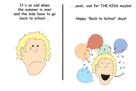Greeting Cards Sarcastic Back to School Cards 076