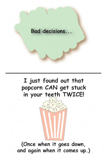 Greeting Cards Sarcastic Bad Decisions Cards 069
