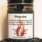 Intention Soy Jar Candle - Protection ( Metaphysical / New Age / Pagan / Wicca / Magic )