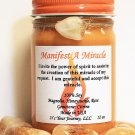 Intention Soy Jar Candle - Manifest A Miracle ( Metaphysical / New Age / Pagan / Wicca / Magic )