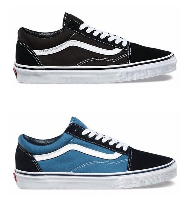 f2e32b9790 Vans Old Skool Core Classic Skate Shoes Sneakers (Black D3HY28