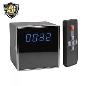 Streetwise Cube Clock DVR Camera spy device lower price