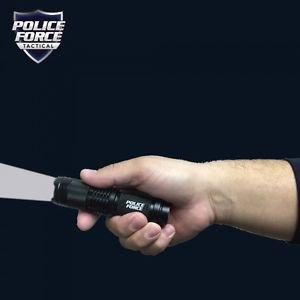 Police Force Tactical T6 LED Flashlight  SKU PFT6F52