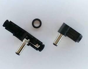 PLUGZ2GO LONGER 14MM - L-Shaped Right Angle DC Plug Jack 2.5mm