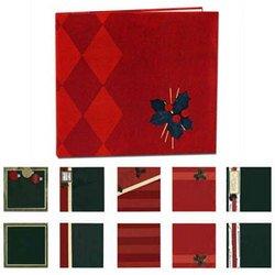 Christmas - Provo Craft Premade 8x8 Scrapbook Album