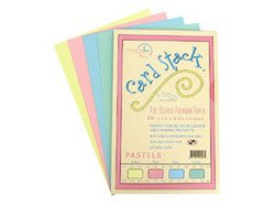 "Pastels - Card Stacks 5.5"" x 8.5"" - Die Cuts with a View"