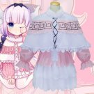 Anime Kobayashi-san Chi no Maid Dragon Kanna Dress Adult Women Halloween Carnival Cosplay Costume