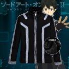 Anime Sword Art Online Kirigaya Kazuto Kirito hoodie Jacket Costume
