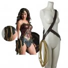 Wonder Woman Cosplay Diana Prince Costume Props Turth Rope String With Belt