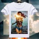 Wonder Woman Printed T-Shirt Summer Comic Superhero T Shirt Lady Short Sleeve Tee Tops