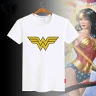 Comic Wonder Woman Printed T-Shirt Women Summer Princess T Shirt Lady Short Sleeves top Tee