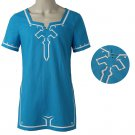 The Legend of Zelda Breath of the Wild Link T shirt Halloween Cosplay Costume Customized