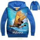 Moana Pringting Hoodies Sweatshirt Gilrs Boys Kids Top Clothing Coat