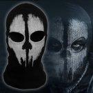 Call Of Duty 10 ghost Cosplay Mask Halloween cs mask Hat Headgear Skull Full mask