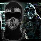 Call Of Duty Cosplay Mask Halloween CS Mask Hat Headgear Ghost Full mask