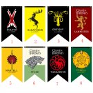 Game Of Thrones Flag House Targaryen & Lannister & Stark Wolf Dragon Flags And Banners 75cmx125cm