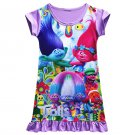Trolls Children Dress Clothing Girls Pajamas Costume Princess Nightgown Vestidos Infantis Clothes