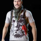 Tom Clancy's Ghost Recon: Wildlands Cosplay T shirt Cotton O-Neck Short Sleeve Tee Shirts No.3