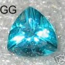8mm Paraiba Helenite Trillion 1.40ct
