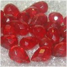 9x6mm Red Quartz Briolette Pendant