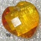 Glass Heart Pendant