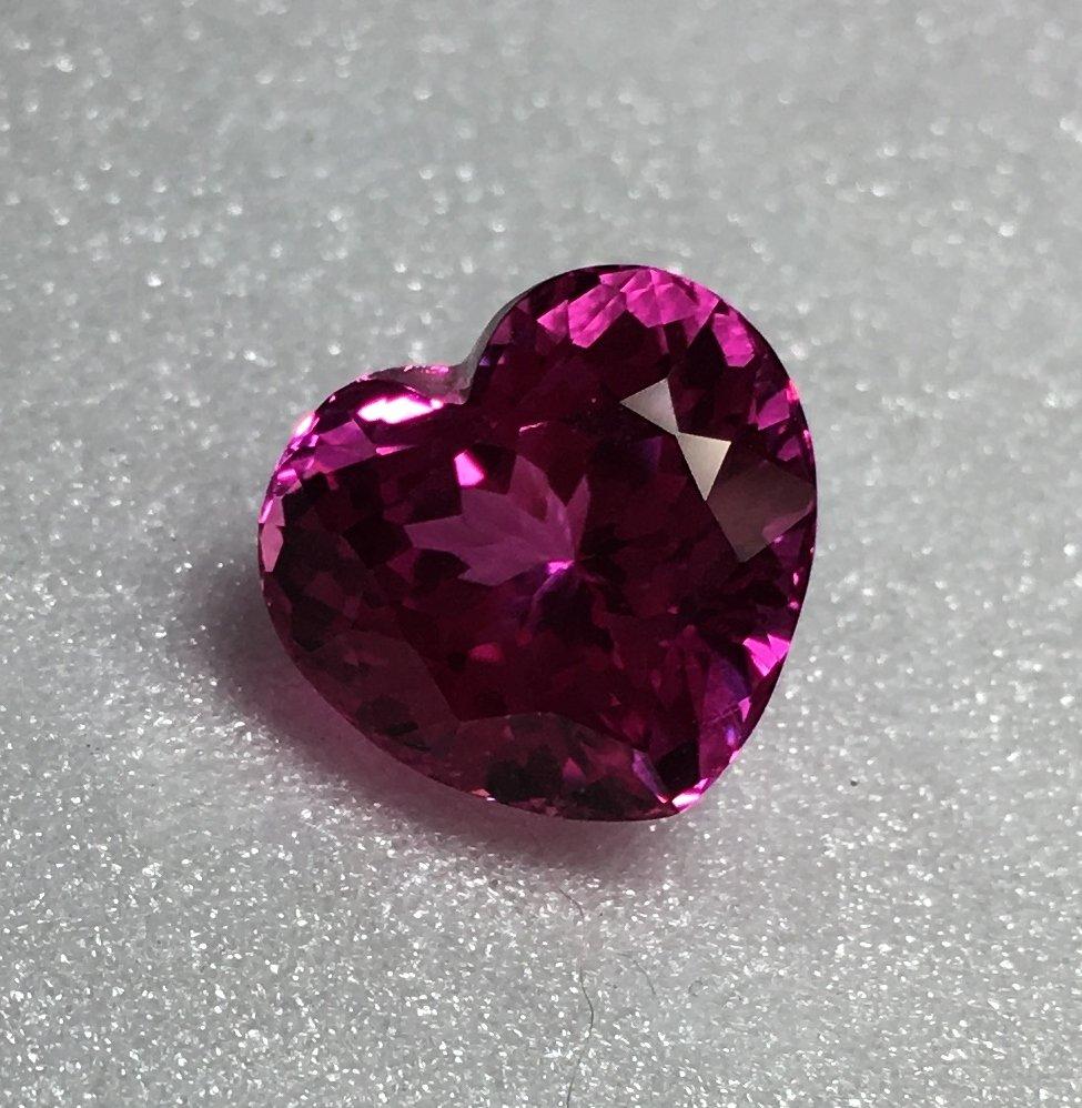 Pink Topaz Heart 11.56x12.35x8.80mm 10.15ct
